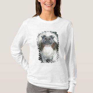 Baumwolle-Spitze Tamarin Saguinus Ödipus) T-Shirt