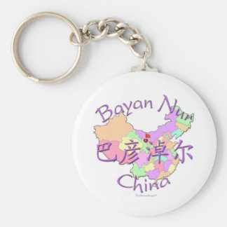 Bayan Nur China Schlüsselanhänger