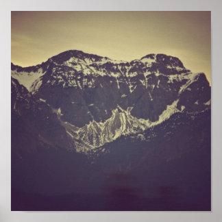 Bayerische Berge Poster