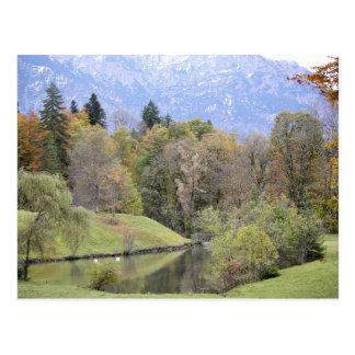 Bayerische Landschafts-Postkarte