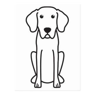 Bayerischer Gebirgsjagdhund-HundeCartoon Postkarte