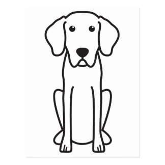 Bayerischer Gebirgsjagdhund-HundeCartoon Postkarten