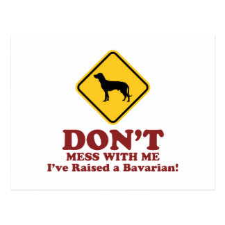 Bayerischer Gebirgsjagdhund Postkarte