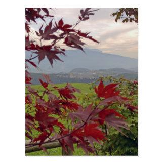 bayerischer Herbst Postkarte