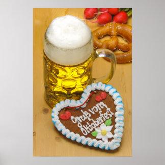 Bayerisches Bier 2 Poster