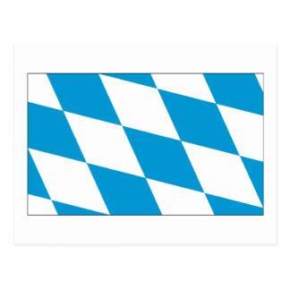 Bayern-Flaggen-bayerisches Flaggen-Geschenk Postkarten