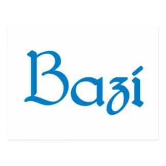 bazi Bayrisch bayerisch Bayern Bavaria Postkarte