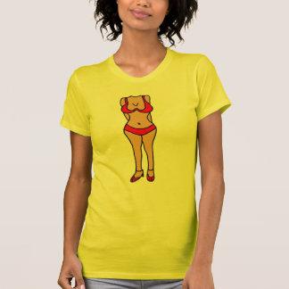 BB unglaublich witzig Bikini, der T-Shirt