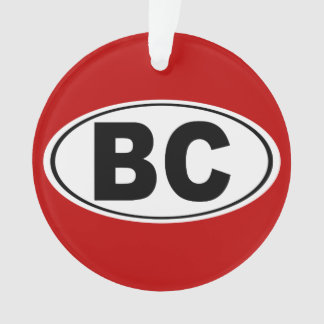 BC Boulder-Stadt Nevada Ornament