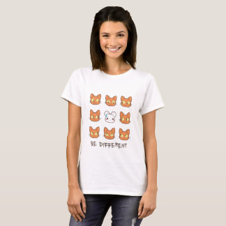 Be Different - cat 'n mouse T-Shirt