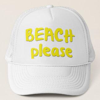 Beach Please Truckerkappe