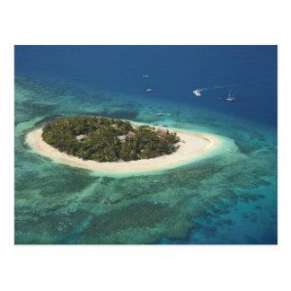 Beachcomber-Inselresort, Fidschi Postkarte
