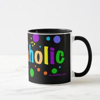 Beadaholic - zeigen Sie Ihre bördelnde Sucht an Tasse