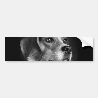 Beagle Autocollant De Voiture