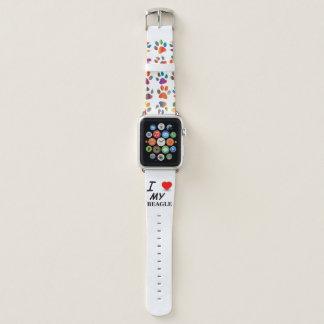 Beagle-Liebe Apple Watch Armband