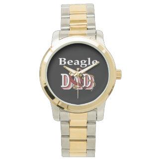 Beagle-Vati-Geschenke Uhr