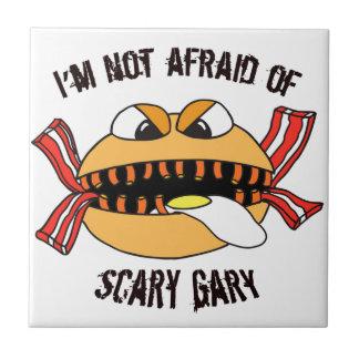 Beängstigende Gary-Keramik-Fliese