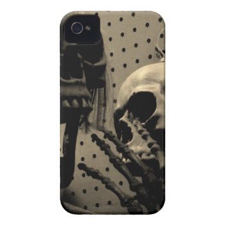 Beängstigende Skeleton Einzelteile iPhone 4 Case-Mate Hülle