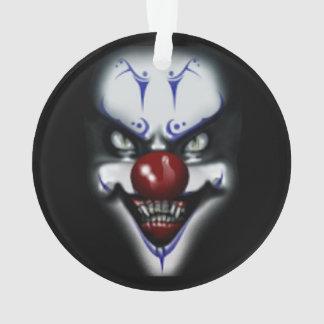 Beängstigender Clown Ornament