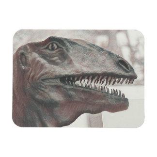 Beängstigender Dinosaurier Magnet