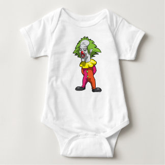 Beängstigendes Baby Jersey Bodysuti Baby Strampler