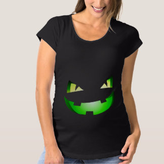 Beängstigendes Kürbisschwangerschaft Schwangerschafts T-Shirt