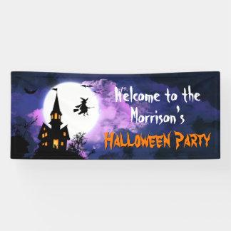Beängstigendes Spuk Banner
