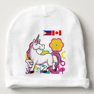 Beanie für Babys der philippinischen Kanadier Babymütze