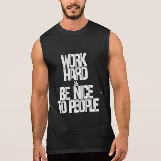 Bearbeiten Sie hartes und nettes zum Ärmelloses Shirt