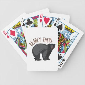 Bearly dort bicycle spielkarten