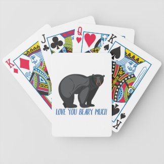 Beary viel bicycle spielkarten