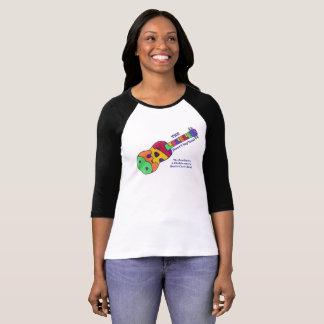 Beatleleles T-Stück mit Text T-Shirt