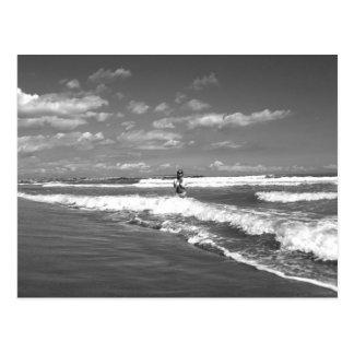 Beatrix at the beach - Postkarte