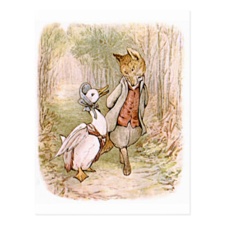 Beatrix Potter, Jemima Pfützen-Ente, Herr Tod Postkarte