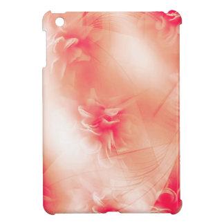 Beau motif orange floral coque iPad mini