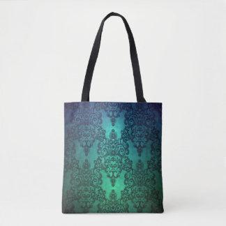 Beaufitul tief aquamariner grün-blauer tasche
