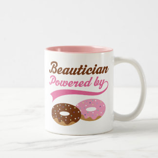 Beautician-lustiges Geschenk Zweifarbige Tasse