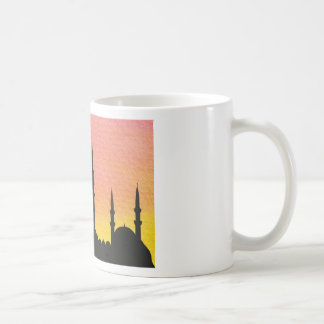 Beautiful tower design mug blanc