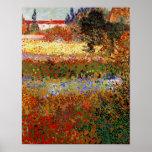 Beaux-arts du jardin fleurissant de Van Gogh (F430 Posters