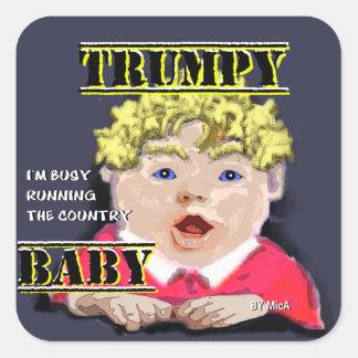 Bébé de Trumpy - autocollants - petit 1 ½ dans