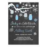 Bébé d'invitation de baby shower c'est bleu carton d'invitation  12,7 cm x 17,78 cm