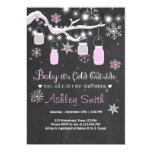 Bébé d'invitation de baby shower c'est fille carton d'invitation  12,7 cm x 17,78 cm