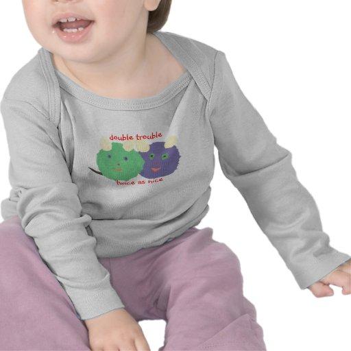 Bébé jumeau du karaté KAT T-shirts