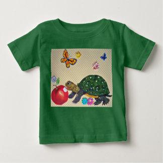 Bébé, T-shirt de la tortue des enfants, art