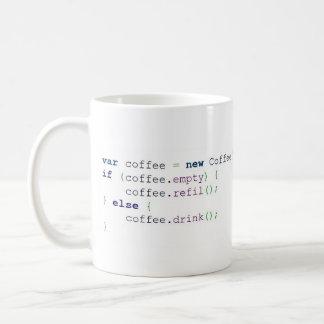 Becher Algorithmus Kaffee ,(Färbt - 325 ml) Kaffeetasse