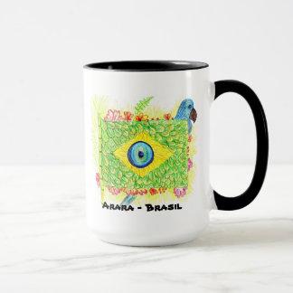 Becher arara- Brasilien Tasse