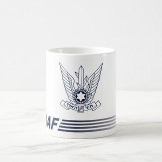Becher Emblem IAF -, zwingt ISRAELISCHES AIR Kaffeetasse