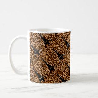 BECHER Leopard Umdrehung Eiffel Kaffeetasse