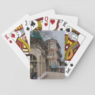 Becken-Park und Flatiron Ebenen Spielkarten
