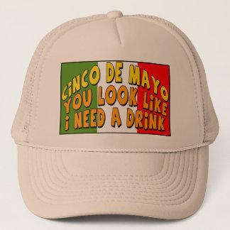 Bedarf Cinco Des Mayo ein Getränk-T - Shirts und Kult Kappen